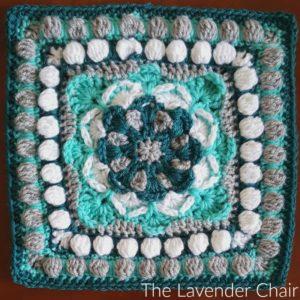 Azalea Mandala Square Crochet Pattern