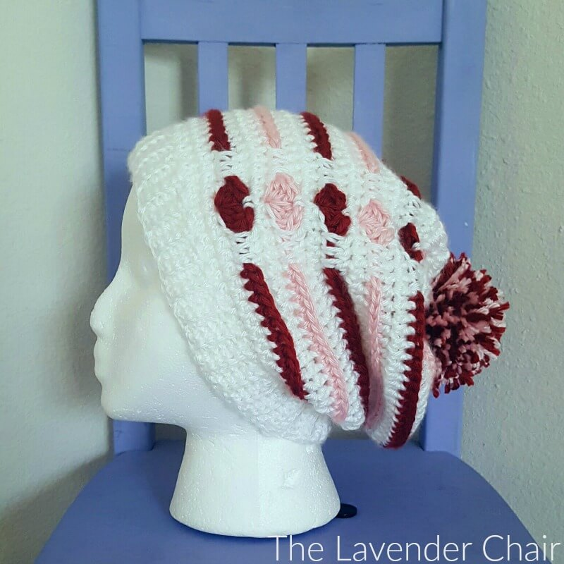 Love Me Tender Slouchy Beanie - Free Crochet Pattern - The Lavender Chair