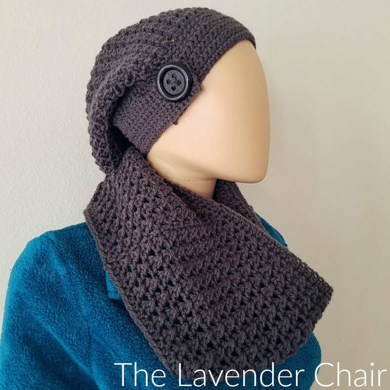 Crossed Double Cowl - Free Crochet Pattern - The Lavender Chair
