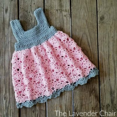 Falling Fans Dress Crochet Pattern