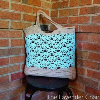 Falling Fans Market Bag Crochet Pattern