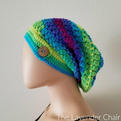 Candace's Cluster Slouchy Beanie Crochet Pattern
