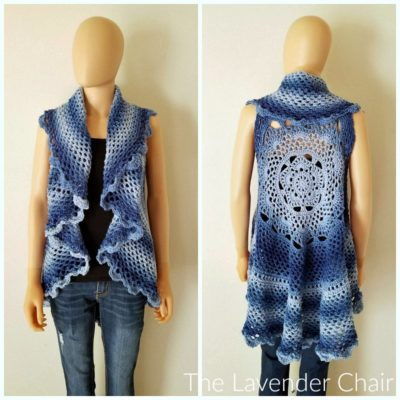 Midnight Star Mandala Vest CAL Intro Post