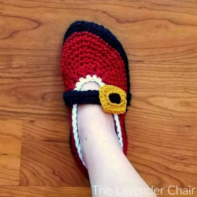 Read more about the article Mrs. Claus' Ballet Slipper Crochet Pattern