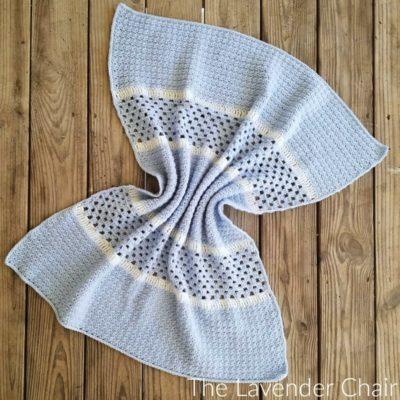 The Derek Baby Blanket Crochet Pattern