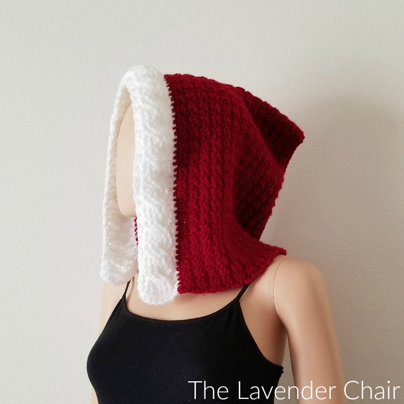 Mrs. Claus' Red Riding Hood - Free Crochet Pattern - The Lavender Chair