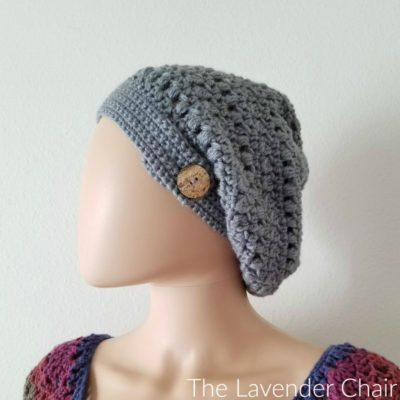 Read more about the article Candace's Cluster and Puff Slouchy Beanie Crochet Pattern