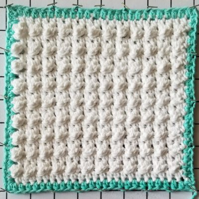 Ocean Breeze Pearlescent Dishcloth - Free Crochet Pattern - The Lavender Chair