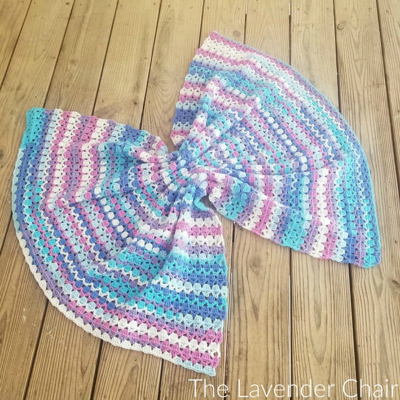 Berry Cupcake Baby Blanket - Free Crochet Pattern - The Lavender Chair