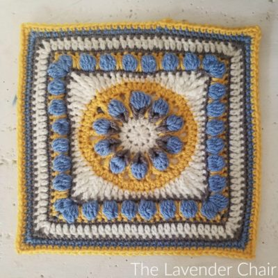 Read more about the article Tuscan Flower Square Crochet Pattern