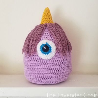 Flying Purple People Eater Crochet Pattern