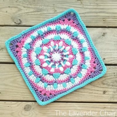 Mandala Galaxy Square Crochet Pattern
