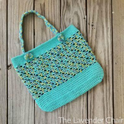 Meshy Shells Market Tote Crochet Pattern