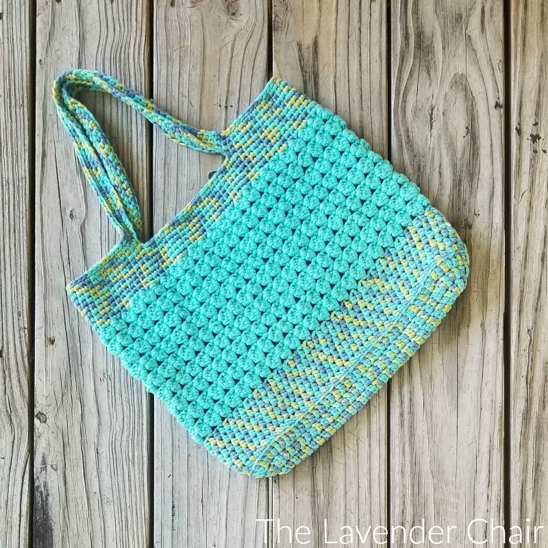 Clarissa Market Tote - Free Crochet Pattern - The Lavender Chair