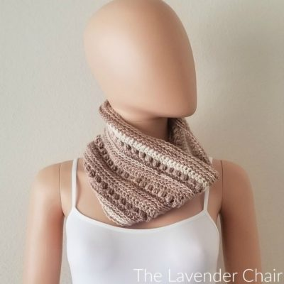 Rocky Road Cowl Crochet Pattern