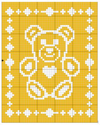 Easy Crochet pattern Teddy bear pattern Applique by PatternsDG ... | 400x320