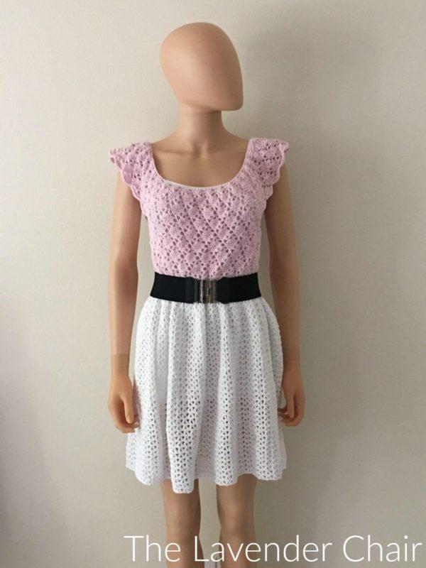 Valerie's Vintage Dress - Free Crochet Pattern - The Lavender Chair