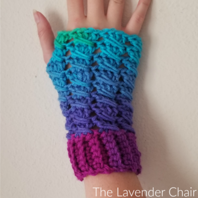 Matilda Fingerless Gloves Crochet Pattern