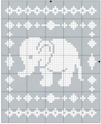 Elephant Baby Shower Crochet Pattern Valentine's Day Love Nap ... | 400x325