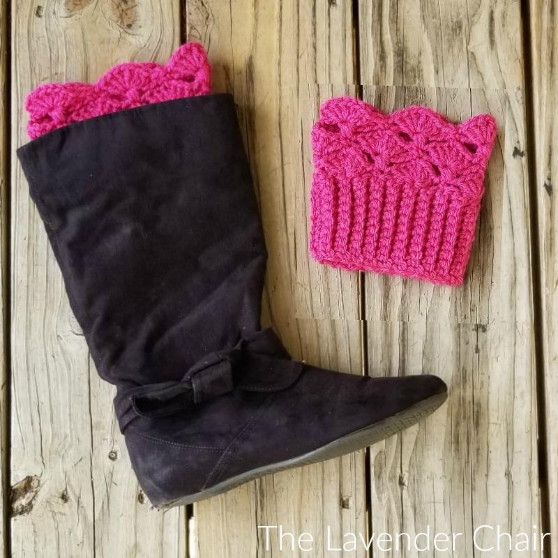 Francesca Boot Cuffs - Free Crochet Pattern - The Lavender Chair