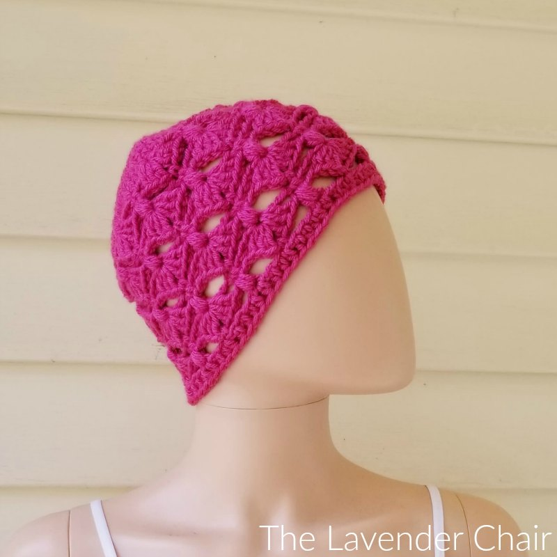 Francesca Beanie - Free Crochet Pattern - The Lavender Chair