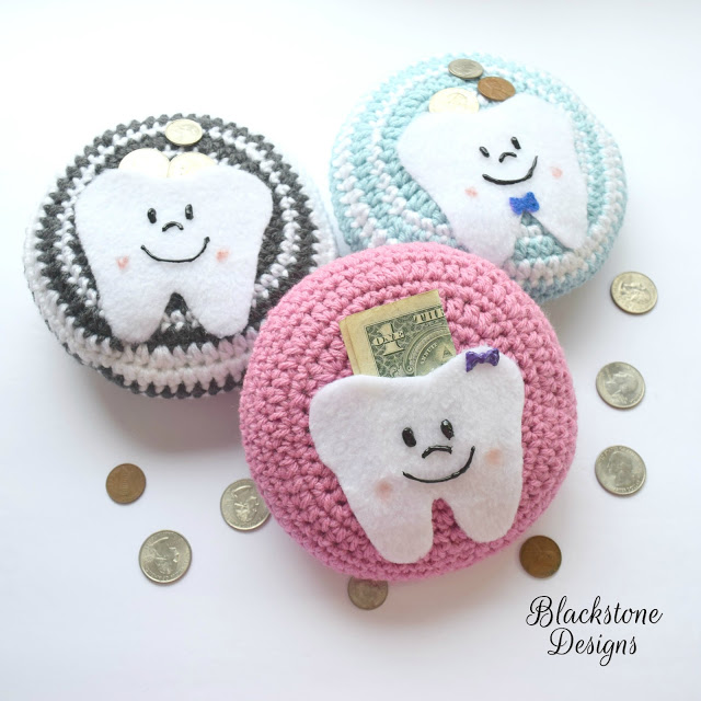 Tooth Fairy Pillow Crochet Pattern