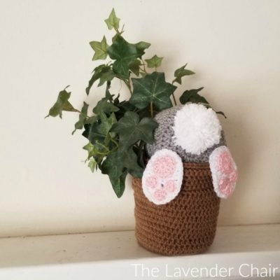Bunny Bum Flower Pot Crochet Pattern
