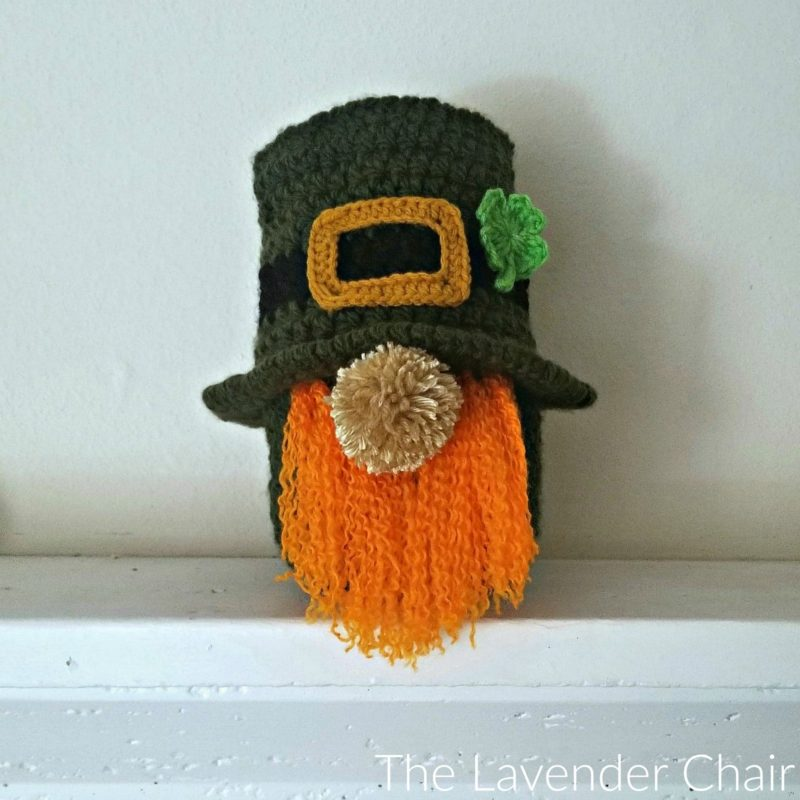 St. Patrick's Day Gnome - Free Crochet Pattern - The Lavender Chair