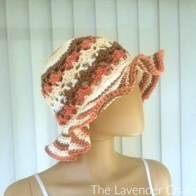 Meshy Shells Sunhat Crochet Pattern