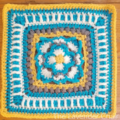 Viola's Gardenia Square Crochet Pattern