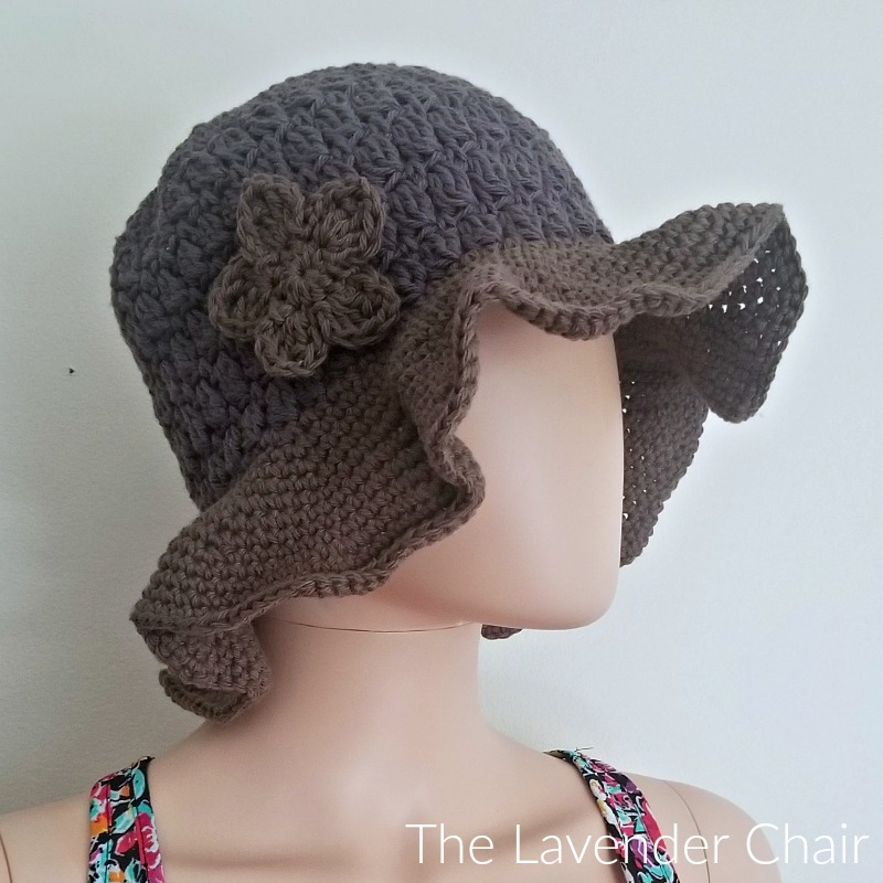Candace's Cluster Sunhat - FREE Crochet Pattern - The Lavender Chair