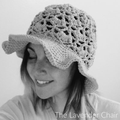 Daisy Fields Sunhat (Adult) Crochet Pattern