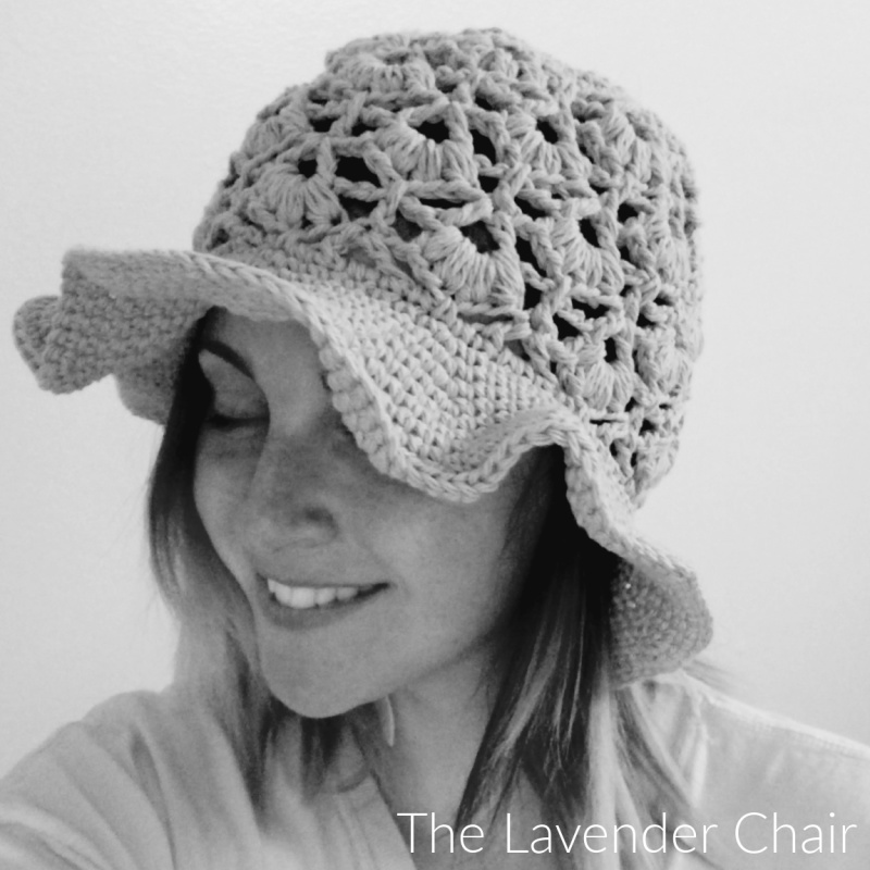 Daisy Fields Sunhat (Adult) - Free Crochet Pattern - The Lavender Chair