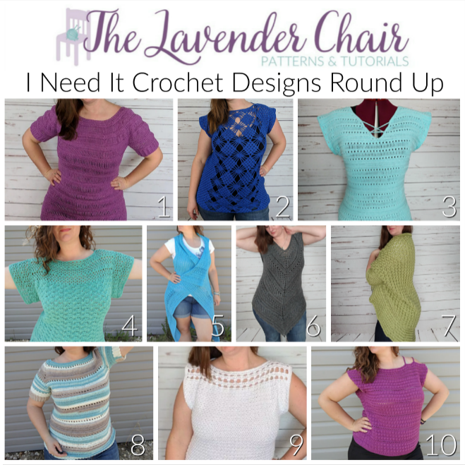 I Need It Crochet Designs Round Up - The Lavender Chair