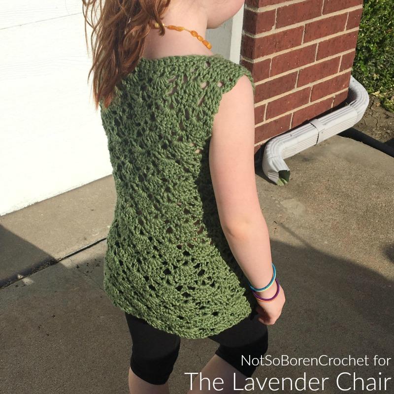 Vintage Tunic (Kids) - Free Crochet Pattern - The Lavender Chair