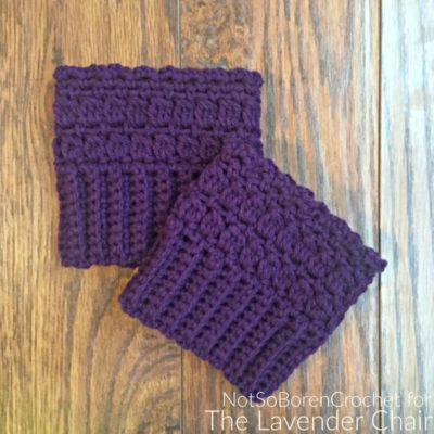 Candace's Cluster Bootcuffs Crochet Pattern