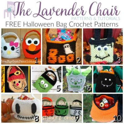 FREE Halloween Bag Crochet Patterns