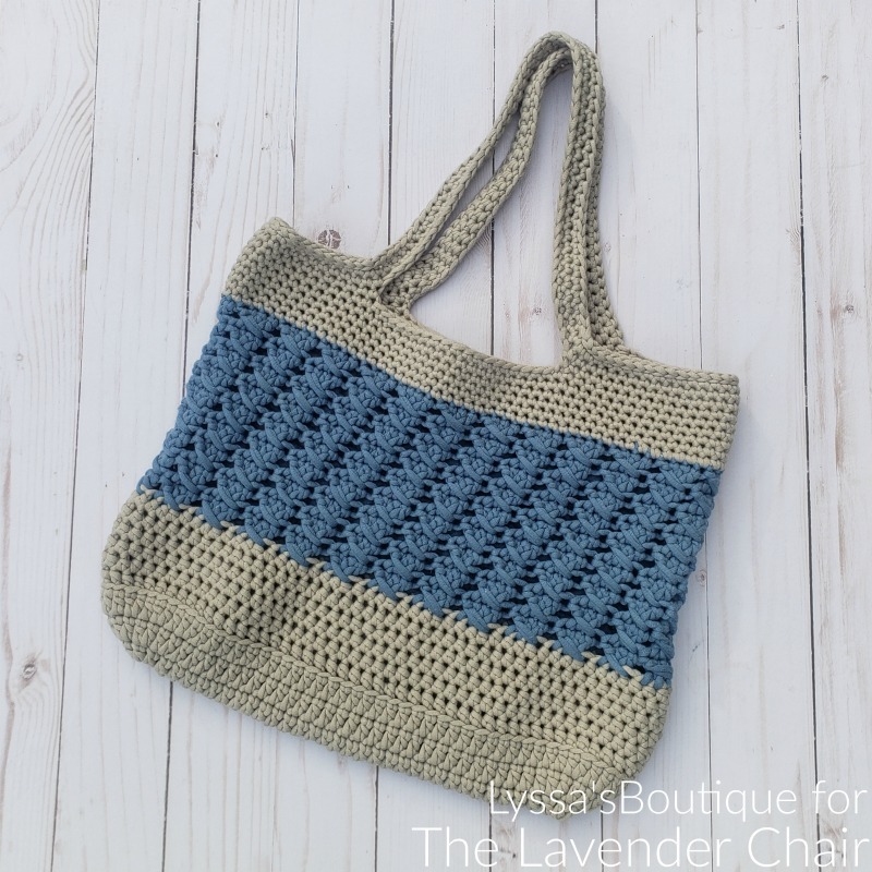 Matilda Tote Bag- Free Crochet Pattern - The Lavender Chair