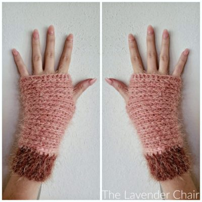 Samantha Fingerless Gloves Crochet Pattern
