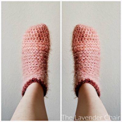 Samantha Socks Crochet Pattern