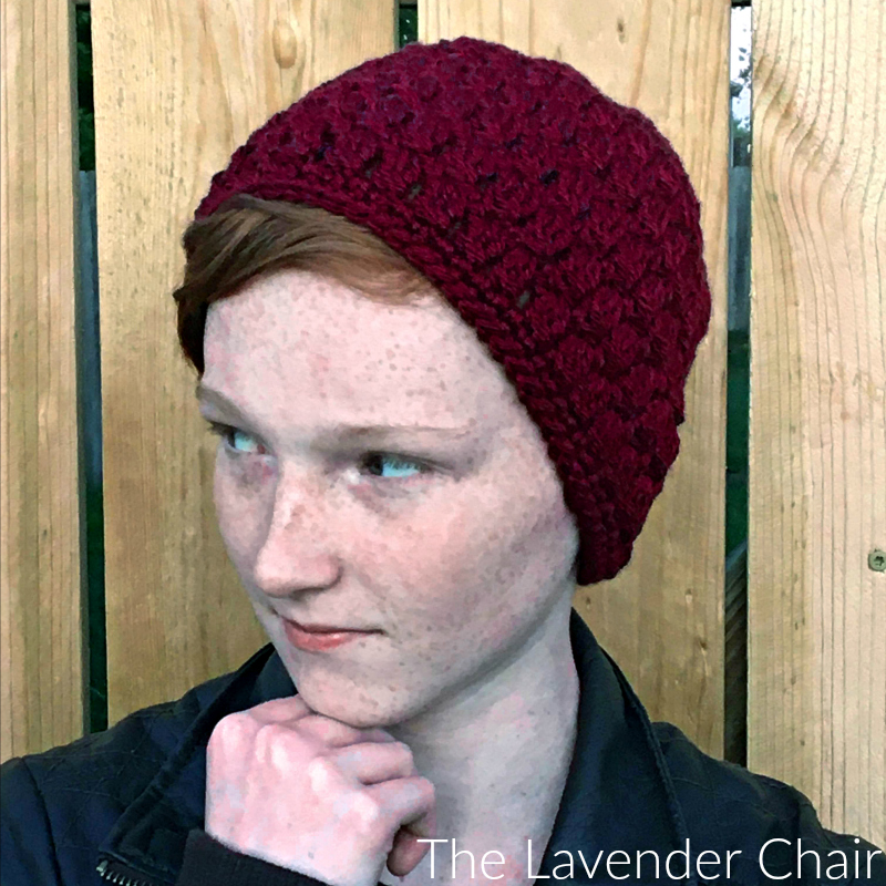 Candace's Cluster Beanie - Free Crochet Pattern - The Lavender Chair