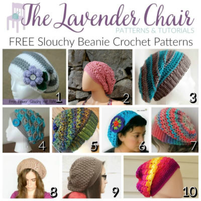 FREE Slouchy Beanie Crochet Patterns