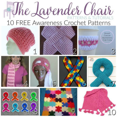 FREE Awareness Crochet Patterns