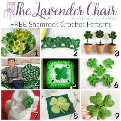 Lucky and FREE Shamrock Crochet Patterns