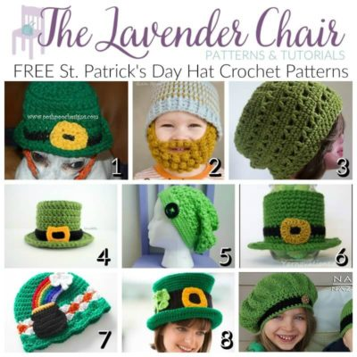 FREE St. Patrick's Day Hat Crochet Patterns