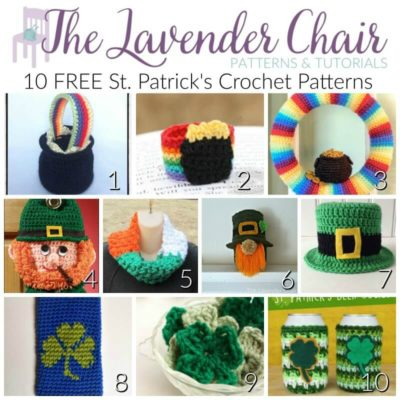 10 FREE St. Patrick's Day Crochet Patterns