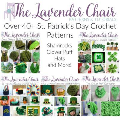 Over 40+ FREE St. Patrick's Day Crochet Patterns