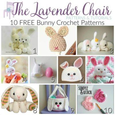 10 FREE Bunny Crochet Patterns