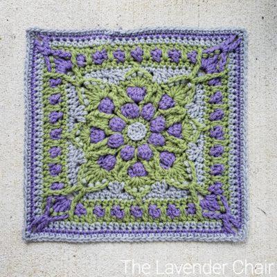 Vitis Vinifera Square Crochet Pattern