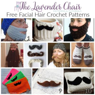 Free Facial Hair Crochet Patterns